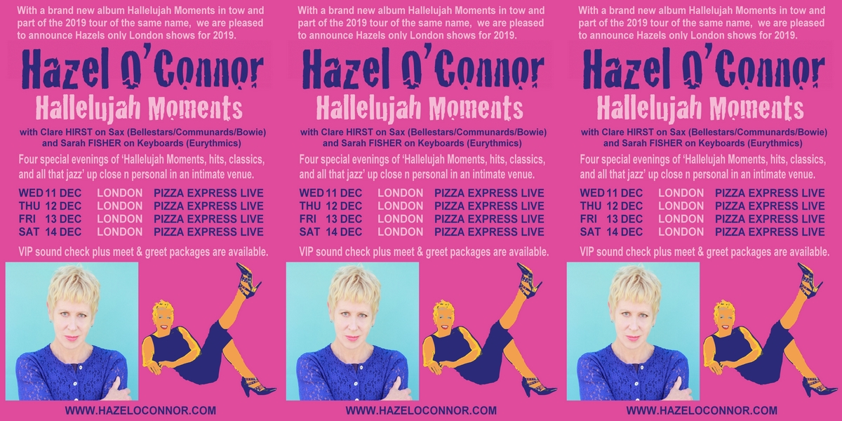 Hazel O'Connor - Hallelujah Moments