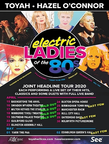 Hazel O'Connor Toyah Willcox Electric Ladies 2020