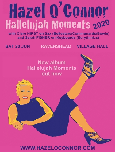 Hazel O'Connor Hallelujah Moments 2020