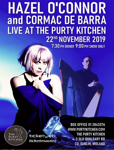 Hazel O'Connor Live at the Purty Kitchen 2019
