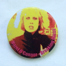 Hazel O'Connor - Breaking Glass Badge