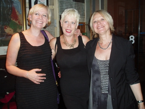 Hazel O'Connor And The Bluja Project by Jean-No�l Potin
