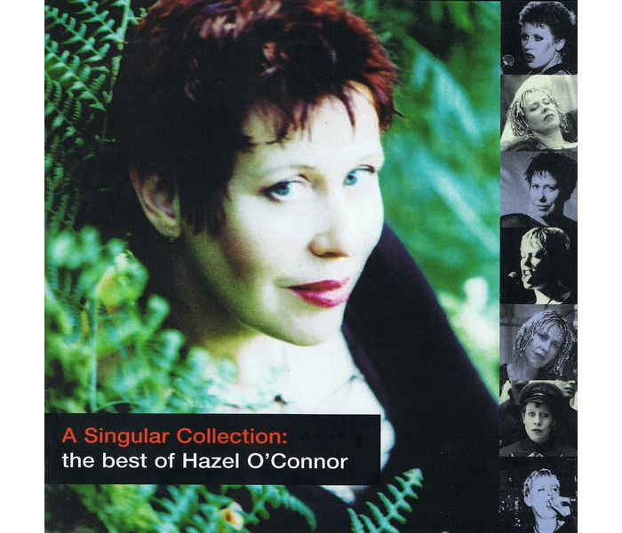 Hazel O'Connor - A Singular Collection - Front Cover