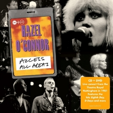 Hazel O'Connor - Access All Areas CD and DVD