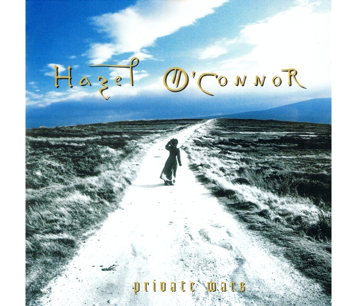 Hazel O'Connor - Private Wars - Front Cover