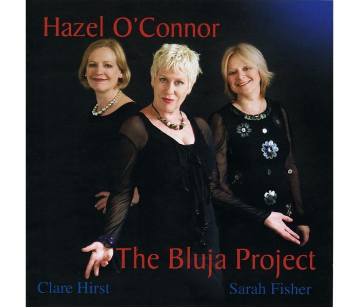 Hazel O'Connor - The Bluja Project - Front Cover